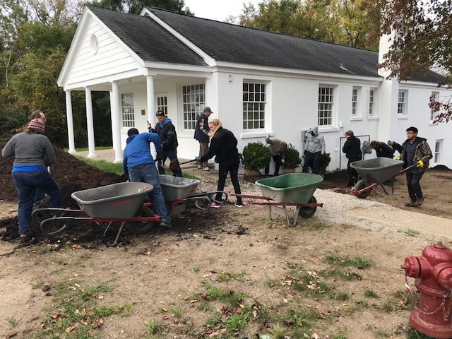 Ford Volunteer Day At The Dormitory For Landscaping Donated By Reliable